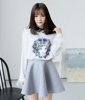 韩式服装搭配图片-北京法莎莉服装公司
