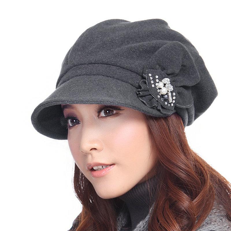 帽檐时尚女帽