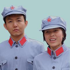 标准军警帽