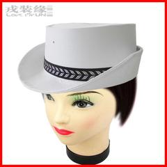 白色军警帽