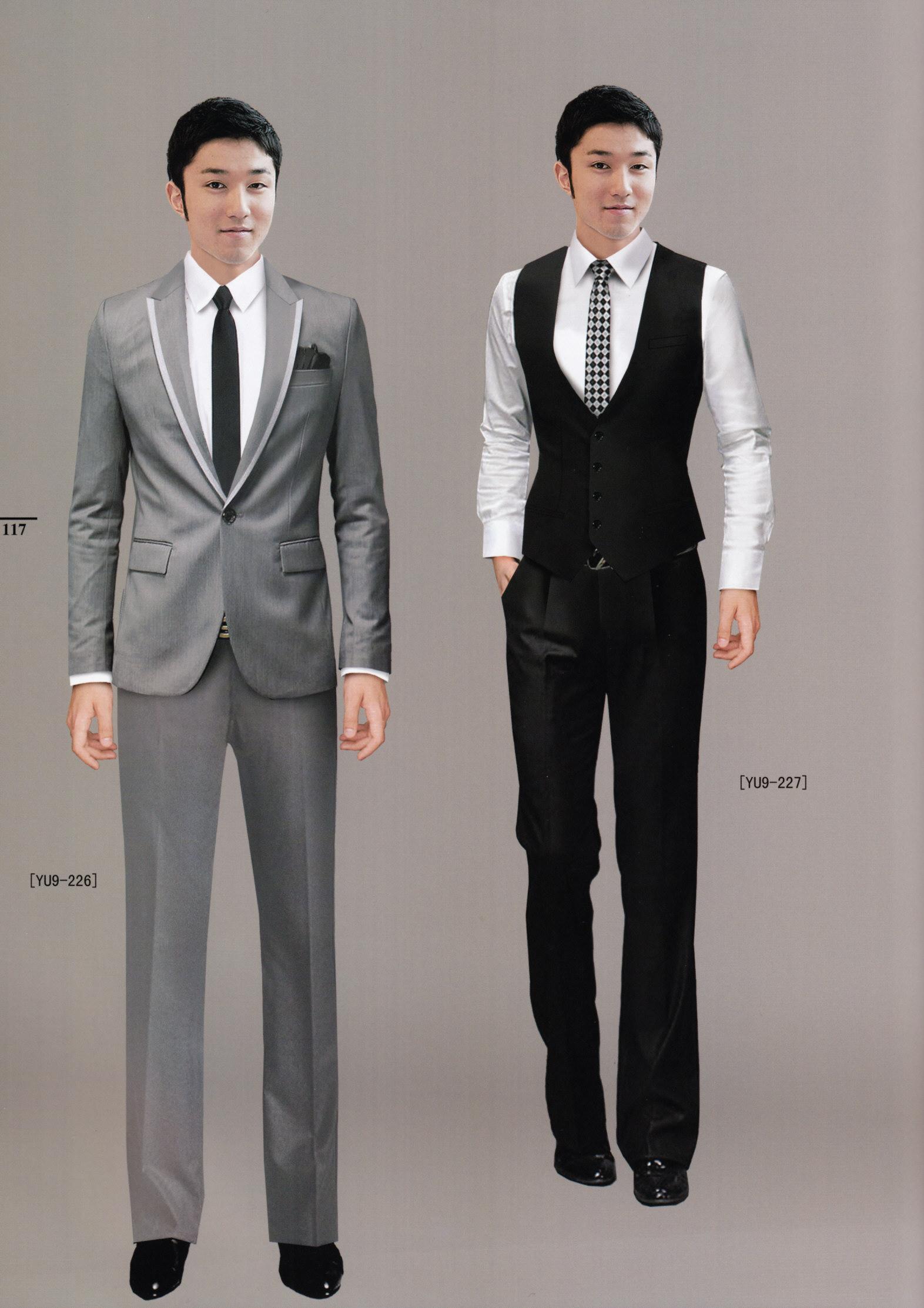 男装时尚西服