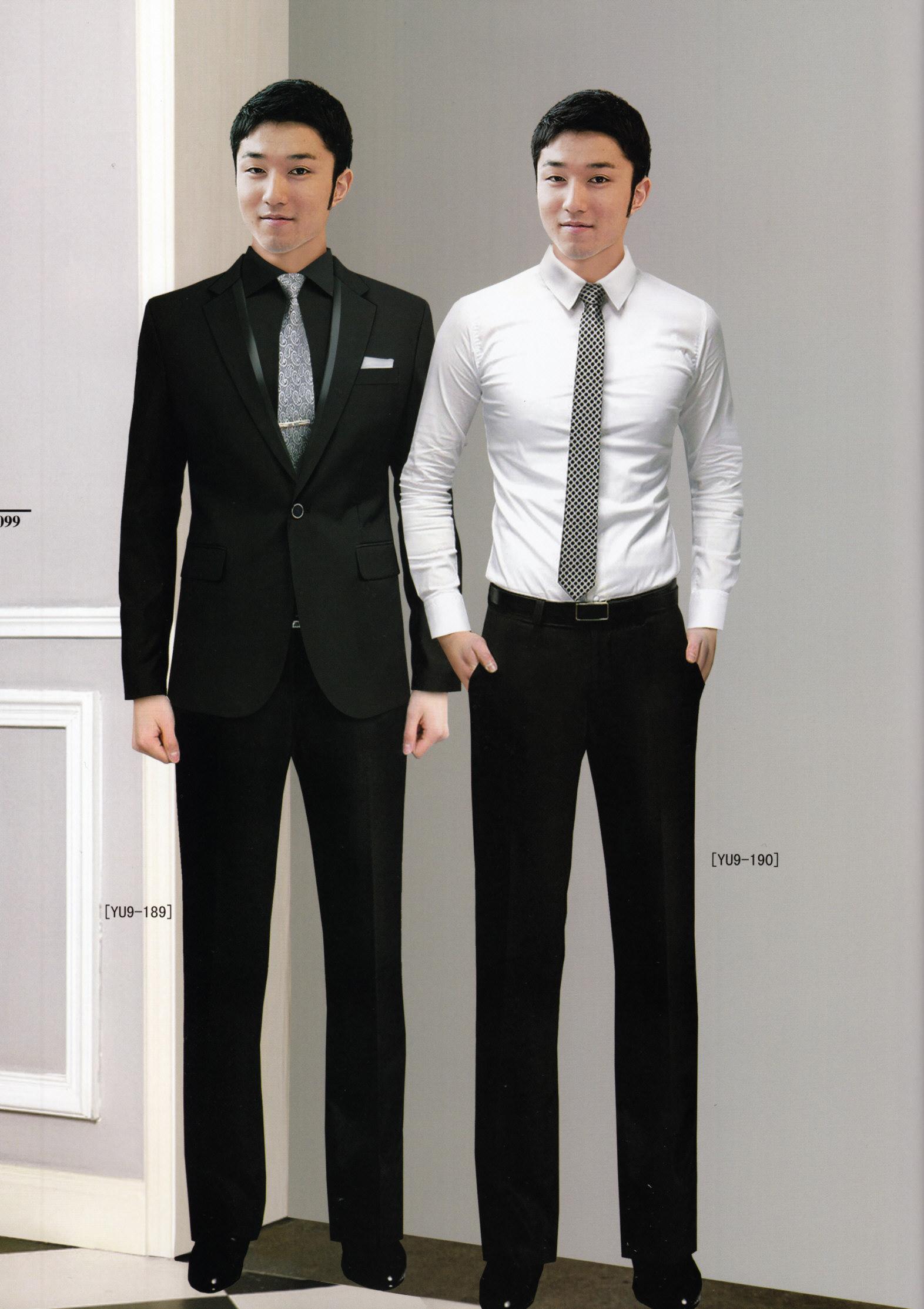 男时尚西服