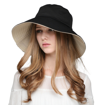 时尚宽沿太阳帽