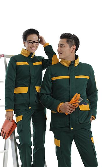 绿色时尚工服