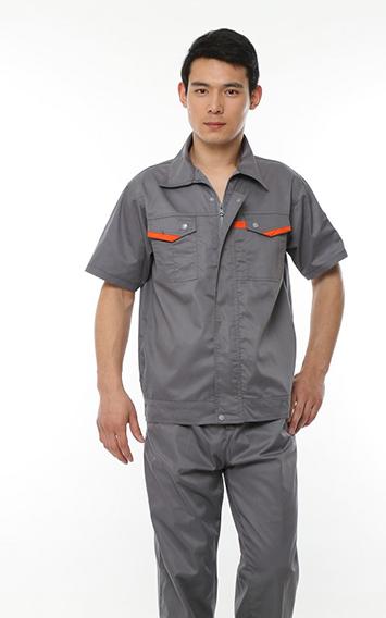 灰色时尚工作服