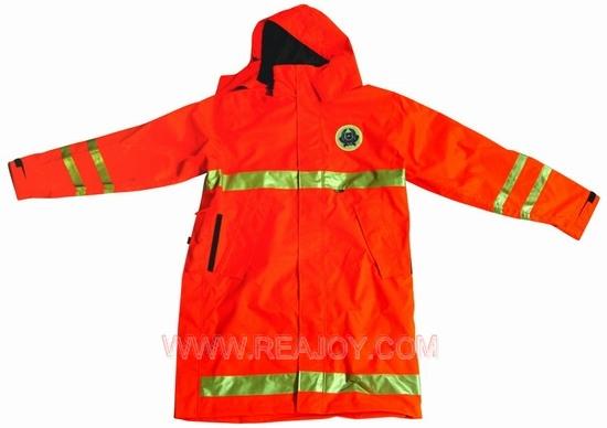 橘红色工作服,正能量的象征