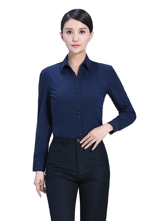 女时尚衬衫定做时面料该如何选