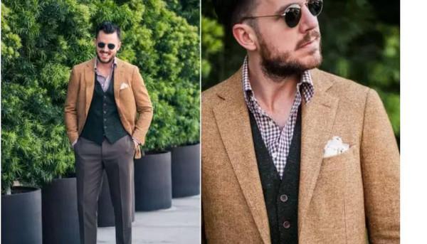 教你做个型男子,冬季潮流男装搭配