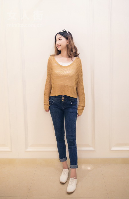 长袖T恤搭配,秋冬季也要美美哒!