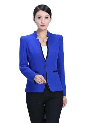 藏蓝色定制西服也是不错选择