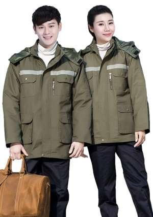 冬季棉服工作服应该如何保养?