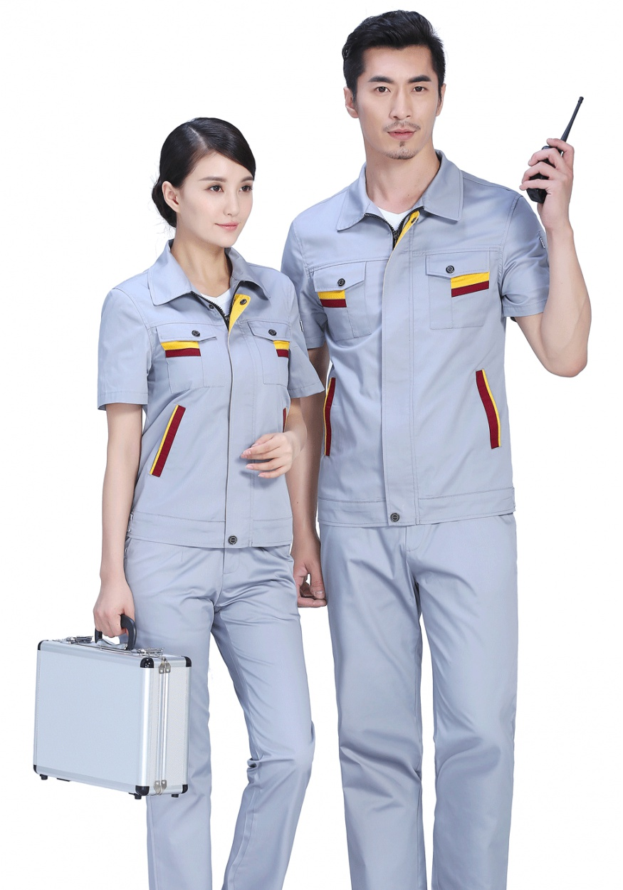 灰色时尚彩色夏季细斜短袖亚博官网下载地址FY604